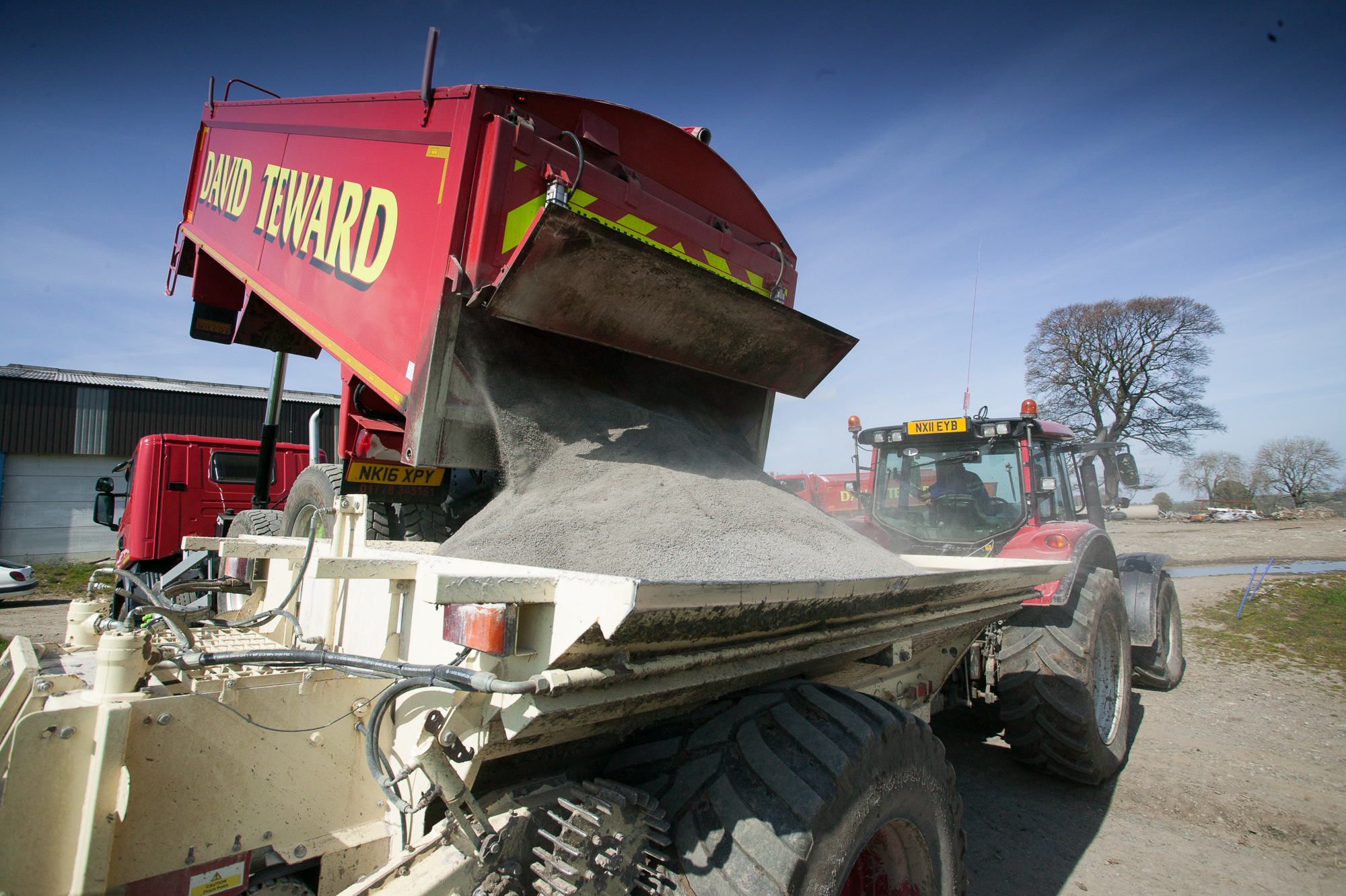 Sand and stone suppliers to agriculture across Yorkshire, county Durham and Cumbria